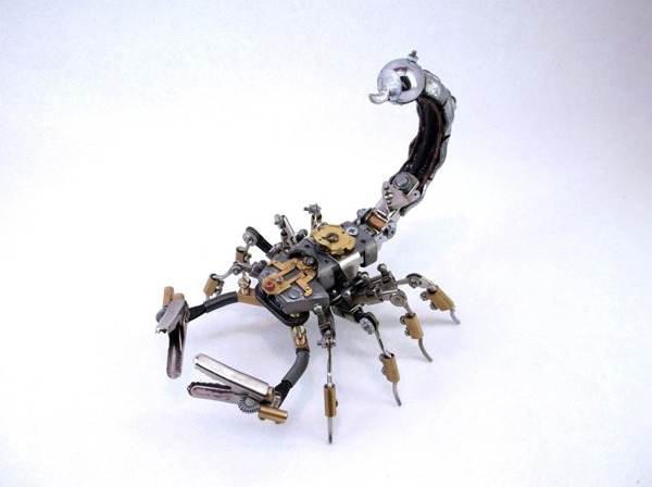 Steampunk-animal-and-insect-sculptures-by-Igor-Verniy7