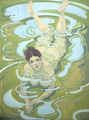 figure-in-water