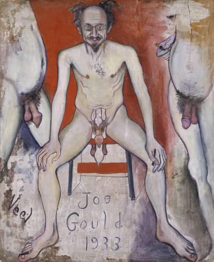 Joe Gould 1933 by Alice Neel 1900-1984