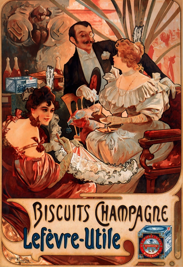 http://uploads4.wikiart.org/images/alphonse-mucha/biscuits-champagne-lef%C3%A8vre-utile-1896.jpg