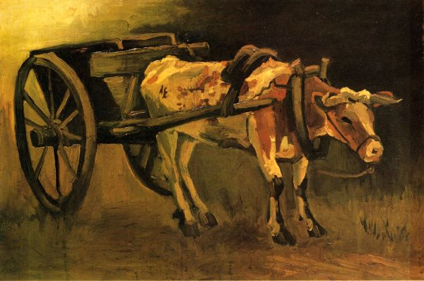 http://uploads3.wikiart.org/images/vincent-van-gogh/cart-with-red-and-white-ox-1884%281%29.jpg