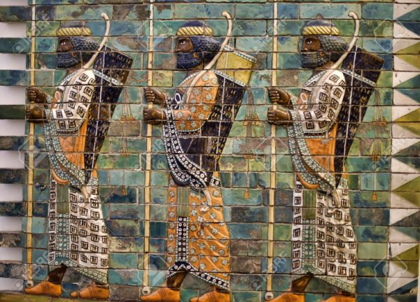 http://previews.123rf.com/images/evdoha/evdoha1508/evdoha150800218/44354331-Babylonian-Archers-These-men-with-bows-and-spears-are-depicted-at-the-Ishtar-Gate-one-of-the-gates-t-Stock-Photo.jpg